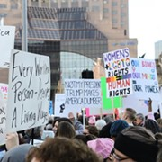 15,000 Women and Men in Cleveland Peacefully Protest New President in Solidarity with Millions Around U.S.