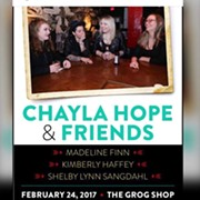 Seafair's Chayla Hope to Headline Her First Solo Show