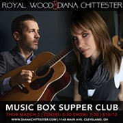 Singer-Songwriters Diana Chittester and Royal Wood to Bring Their Co-Headlining Tour to the Music Box