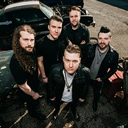 Local Hard Rock Act Nine Shrines Launches National Tour with Nonpoint on Monday at the Agora