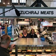 Yahoo's Katie Couric in Town for 'Cities Rising,' Tours West Side Market