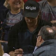 Matthew McConaughey is Everywhere in Cleveland, Including Last Night's Winning Indians Game