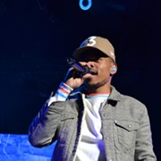 Chance the Rapper Gives an Exuberant Performance at Blossom