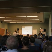 Here's What You Missed at Last Night's Packed Forum on Shaker Square's Future