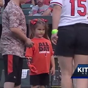 A 7-Year-Old Girl With a Bionic Hand Wants to Throw a First Pitch at Every MLB Stadium and the Indians Are Totally Down