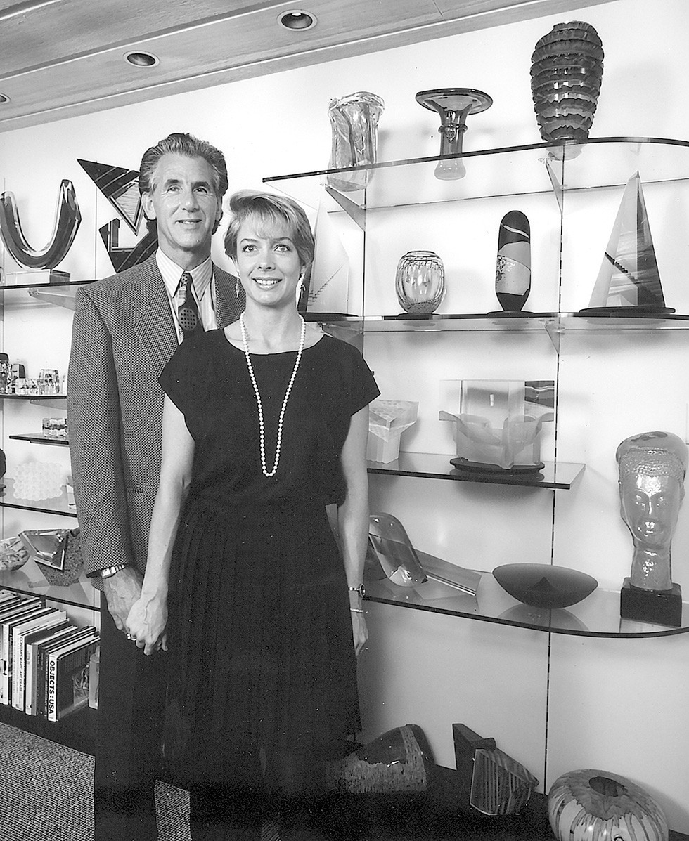 Mike and Annie Belkin have donated pieces from their art collection to museums in Cleveland, Akron, New York, London and Japan. - PHOTO COURTESY OF RON HILL