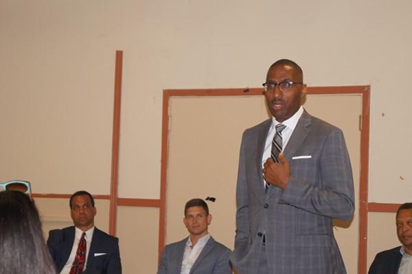 Zack Reed, Mayoral Candidate Forum, Clark-Fulton VFW (6/26/17) - SAM ALLARD / SCENE