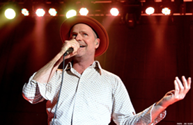 Gord Downie performing at House of Blues. - JOE KLEON