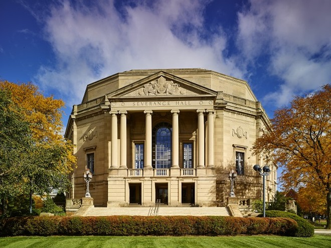 If only the weather looked like this outside Severance Hall Sunday afternoon. - PHOTO BY ROGER MASTROIANNI, COURTESY OF THE CLEVELAND ORCHESTRA