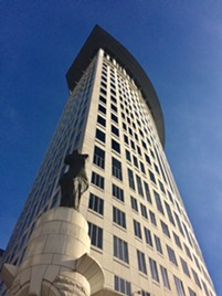 Federal courthouse in downtown Cleveland - ERIC SANDY / SCENE