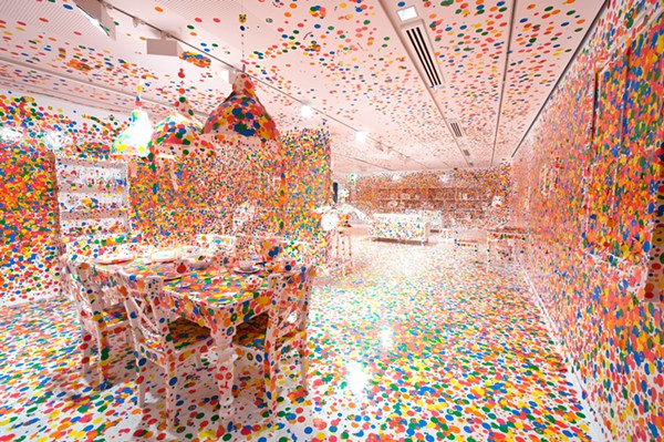 """The Obliteration Room,"" 2002 to present. - PHOTOGRAPH: QAGOMA"