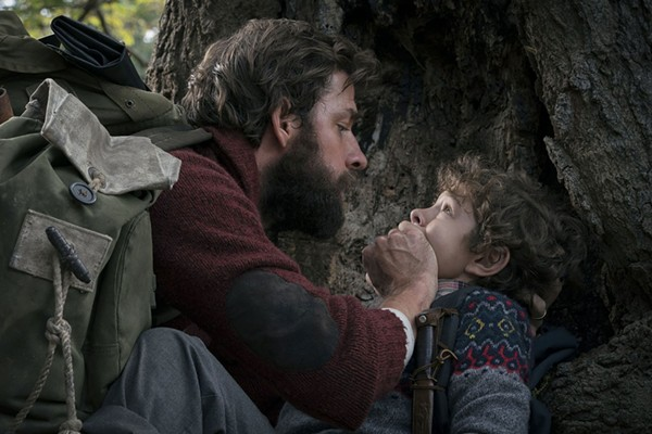 Keeping quiet in 'A Quiet Place'