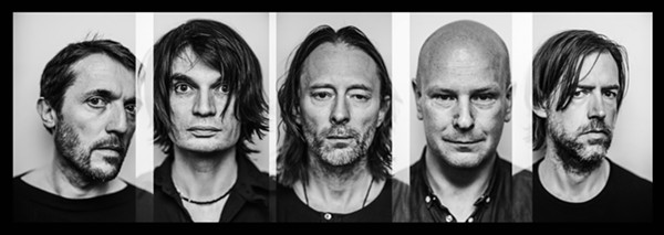 The British alt-rock band Radiohead was nominated but not inducted this year. - ALEX LAKE