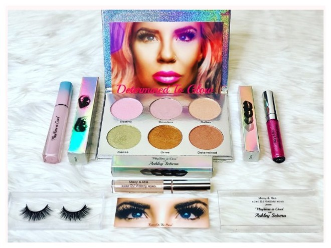 'Playtime is Over' Collection from Macy & Mia and Ashley Sebera - COURTESY OF MACY & MIA COSMETICS