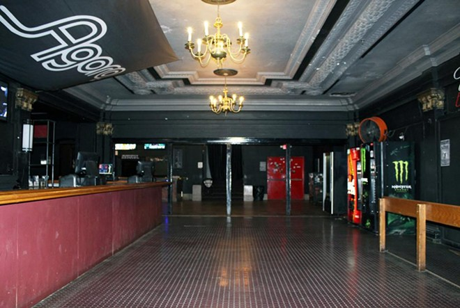 The first floor bar before renovations. - COURTESY OF AEG PRESENTS
