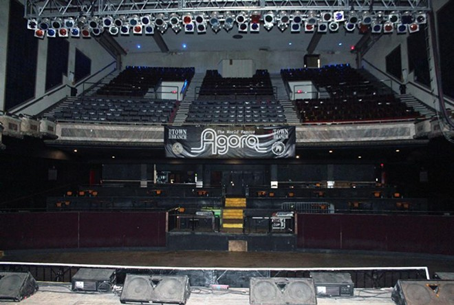 The main theater before renovations. - COURTESY OF AEG PRESENTS