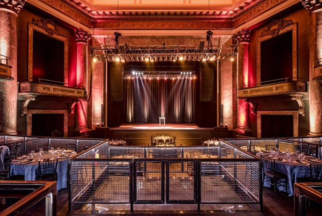 The main theater after renovations from the audience perspective. - COURTESY OF AEG PRESENTS