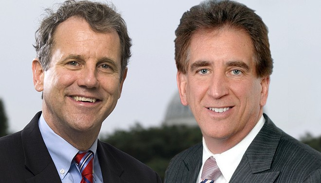 Sherrod Brown and Jim Renacci - OFFICIAL HEADSHOTS