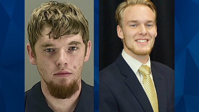 Kendal Scheid (left), Duncan Unternaher (right) - COURTESY OF CRIME ONLINE