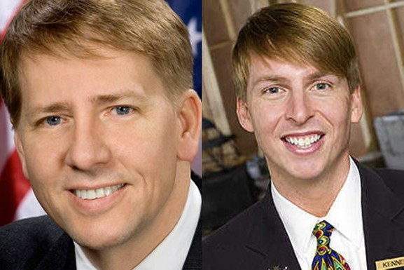 Richard Cordray and Jack McBrayer (Kenneth Parcell on '30 Rock') - OFFICIAL HEADSHOT | WIKIMEDIA COMMONS