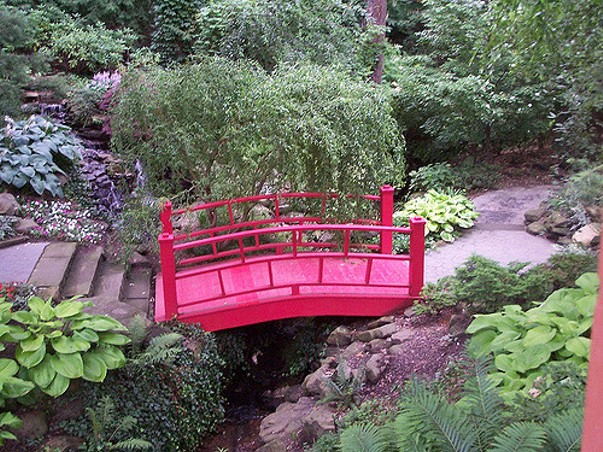 The Japanese Garden at Cleveland Botanical Garden. - PHOTO VIA FLICKR/BECKER1999
