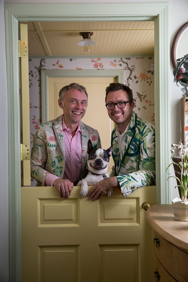 Madcap Cottage's John Loecke and Jason Oliver Nixon. - COURTESY OF THE GREAT BIG HOME + GARDEN SHOW