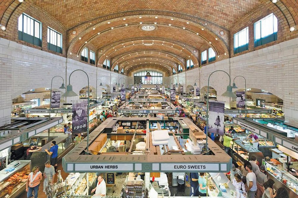 West Side Market - PHOTO BY EMANUEL WALLACE