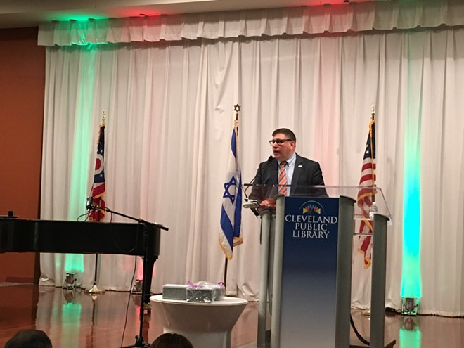 Global Cleveland's Joe Cimperman at the Inaugural Sister Cities Conference, (5/2/19). - COURTESY: CITY OF CLEVELAND