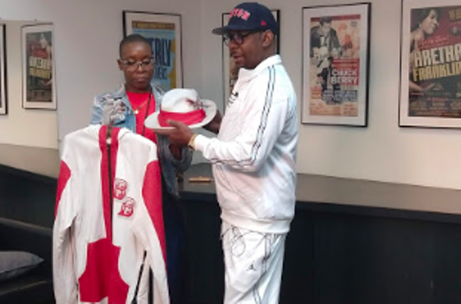 R&B Star Bobby Brown Meets and Greets Fans at the Rock Hall