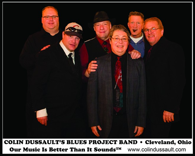 COURTESY OF THE COLIN DUSSAULT BLUES PROJECT