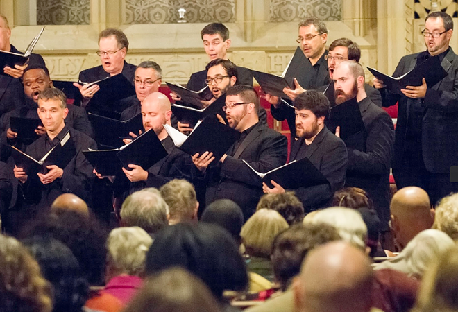 MIKE REILLY, CLEVELAND CHAMBER CHOIR