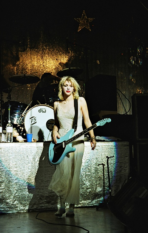 Hole's Courtney Love. - JOHN PATRICK GATTA
