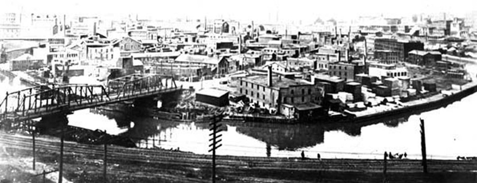 Scranton Heights 1910 - PHOTO COURTESY  CLEVELAND MEMORY PROJECT