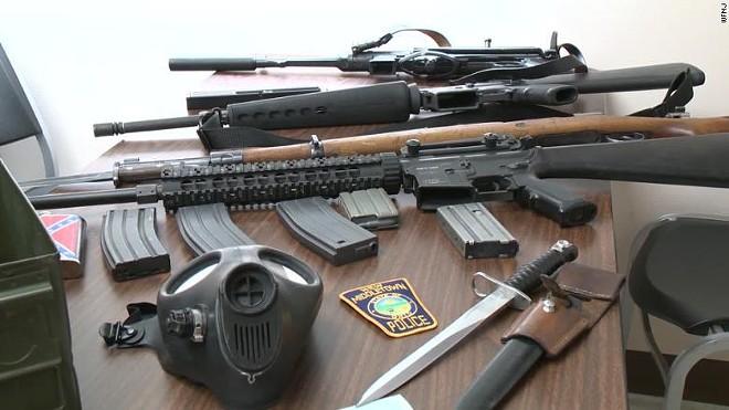 Reardon's cache - NEW MIDDLETOWN POLICE