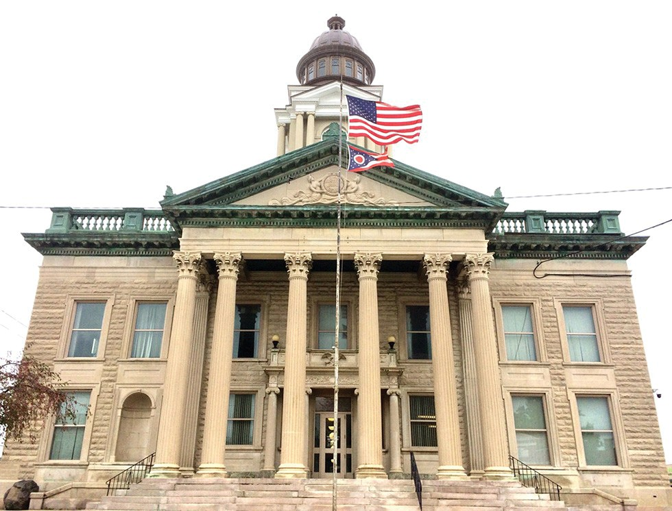 The Crawford County Courthouse