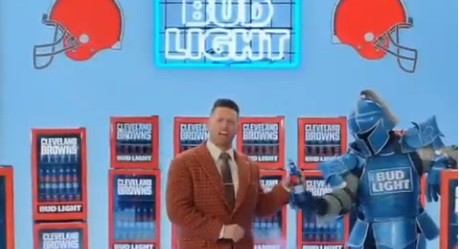 BUD LIGHT COMMERCIAL SCREENSHOT