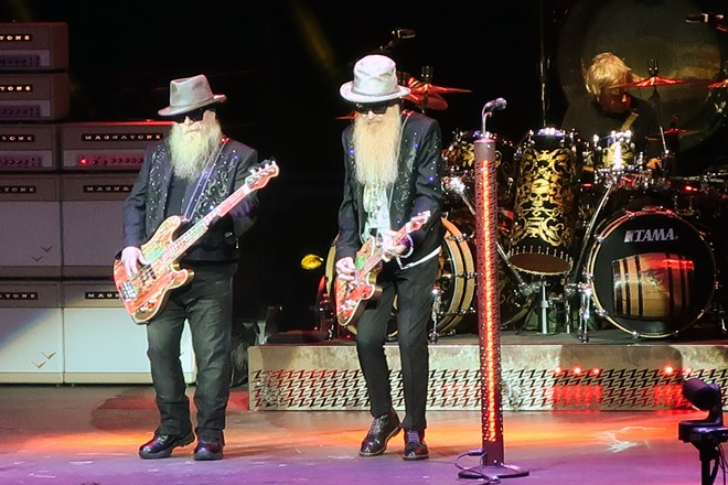 ZZ Top and Cheap Trick Bring Jacobs Pavilion at Nautica's Season to a Close with a Bang