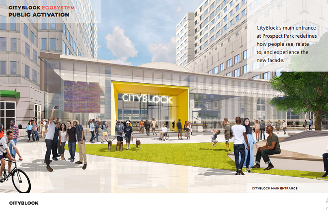 City Block conceptual rendering - VOCON