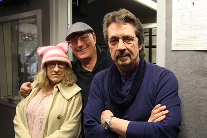 From the left, Anastasia Pantsios, Joe Kleon and Michael Stanley. - JR EATON