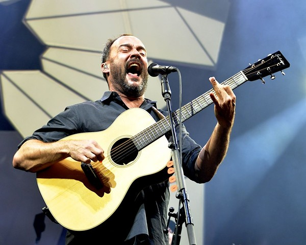 Dave Matthews Band at Blossom in 2018. - JOE KLEON