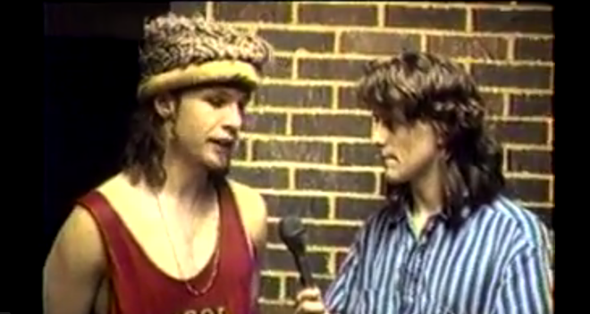 NORMANDY STUDENT INTERVIEWING PEARL JAM BASSIST JEFF AMENT