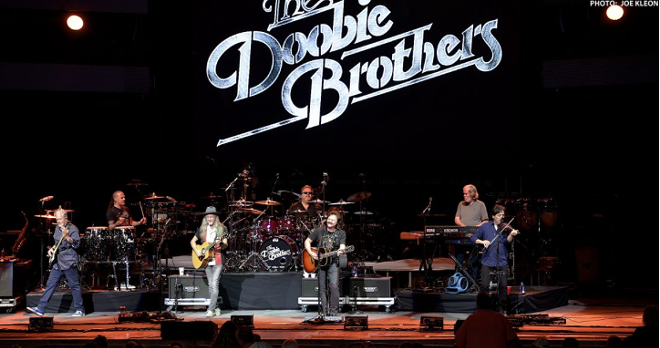 The Doobie Brothers performing at Blossom earlier this year. - JOE KLEON