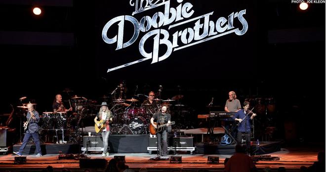 The Doobie Brothers performing at Blossom. - JOE KLEON