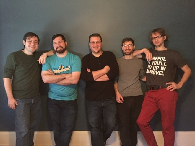 The Dr. Bloc crew. - COURTESY OF ROB KOVACS