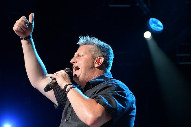 Rascal Flatts performing at Blossom in 2013. - JOE KLEON