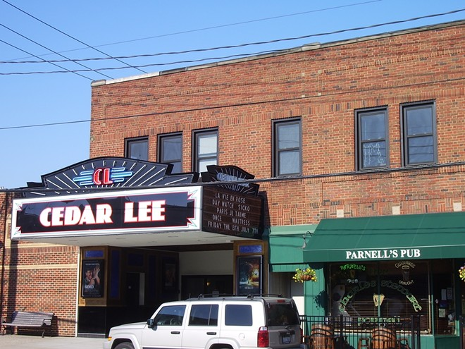 The Cedar Lee in an earlier era, (before the relocation of Parnell's). - CLEVELAND CINEMAS