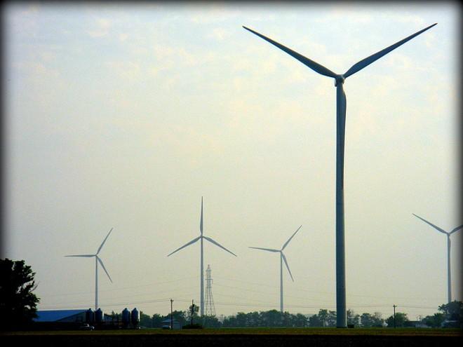 Wind farm in Van Wert, Ohio - CHARLES CARPER