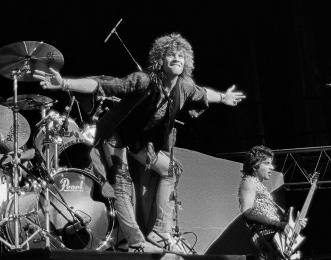 Local photographer Janet Macoska will be selling this photo of Bon Jovi at Saturday's Music and Friends Garage Sale. - JANET MACOSKA