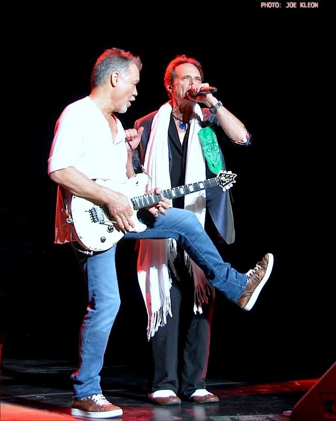 Van Halen performing at Blossom in 2015. - JOE KLEON