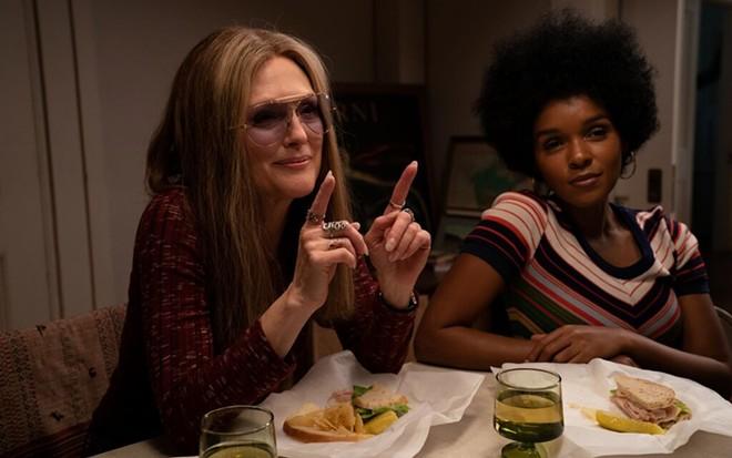 Julianne Moore and Janelle Monae in Julie Taymor's The Glorias - DAN MCFADDEN / ROADSIDE ATTRACTIONS